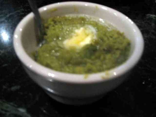 Mushy Peas at The Anchor Fish And Chips
