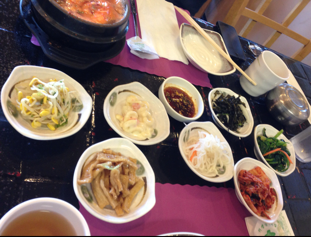 Side Dishes at Mom's Tofu House