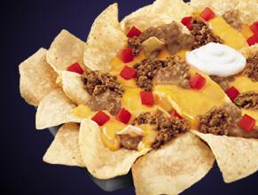 NACHOS BELLGRANDE® at Del Taco