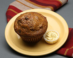Carrot Raisin Nut Muffin at Mimi's Cafe