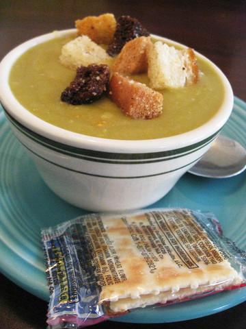 Split Pea Soup at Bake N' Broil