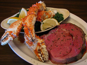 Photo of Primerib & Crab legs