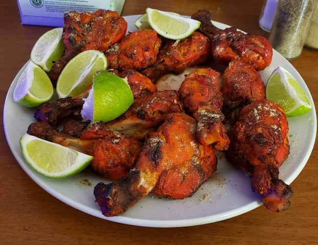 Tandoori Chicken at Chutes Restaurant and Lounge