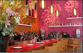 Interior at Rosa Mexicano