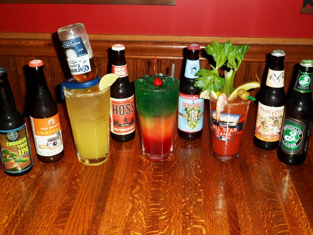 Wide range of mixed and bar drinks - Dish at Time Out Restaurant & Sports