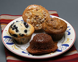 Mimi's Fresh Muffins at Mimi's Cafe