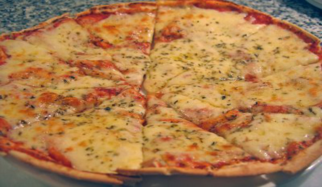 """12"""" Thin Crust Pizza at The Old Time Vincent's Seafood & Italian Restaurant"""