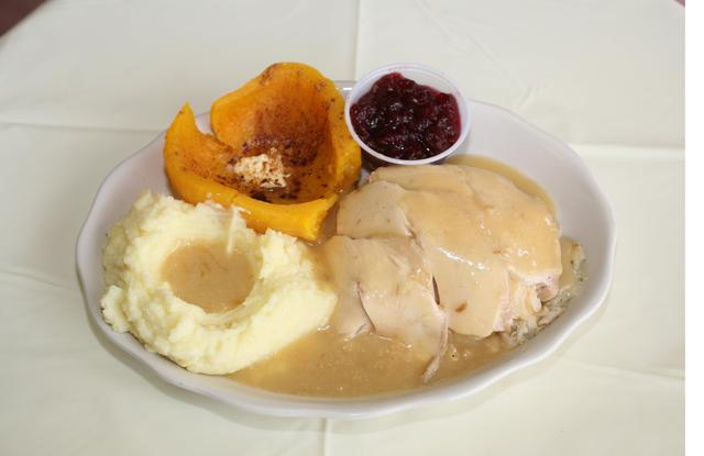 Roast Turkey Dinner at The Green Tomato Kitchen
