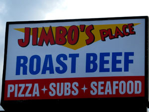 Logo at Jimbos