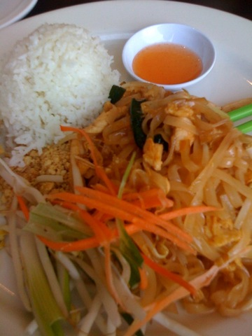 Pad Thai at Bamboo Thai Bistro