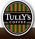 Logo at Tully's Coffee