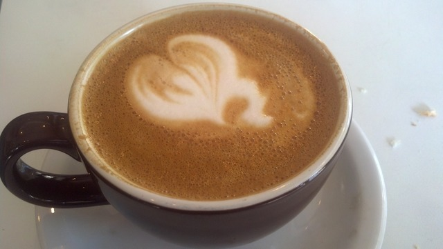 Latte at The Brothers K Coffeehouse