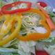 Salad at Di Napoli Pizzeria
