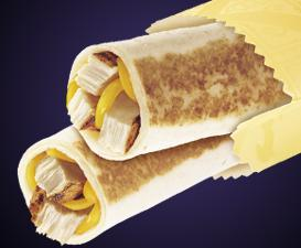 CHICKEN GRILLED TAQUITOS at Del Taco