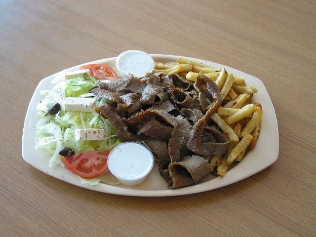 Gyros Dinner at Squabs Gyros