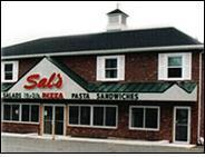 Exterior at Sal's Pizza