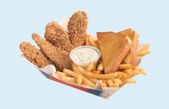Chicken Strip Basket at Dairy Queen