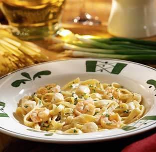 Seafood Alfredo at Isaac's Restaurant & Deli