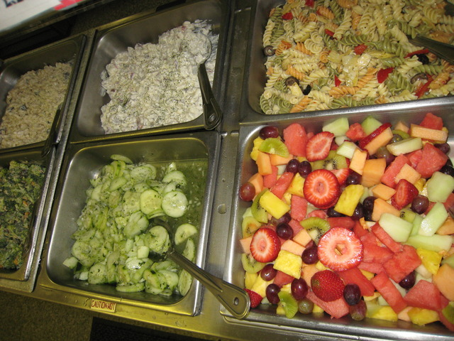 Daily, freshly made salads to choose from. - Salads at High Park Deli Sandwich