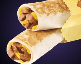 STEAK GRILLED TAQUITOS at Del Taco