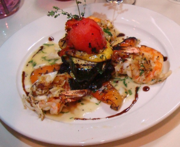 Crabmeat Stuffed Shrimp at Caffe Capri