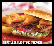 Chipotle Grilled Steak Sandwich at T.G.I. Friday's