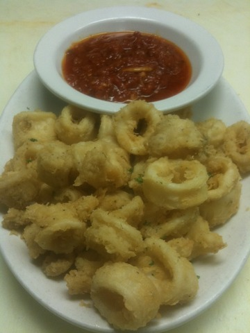 Fried Calmari at Ruffino's Italian Restaurant & Pizzeria