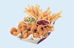 Popcorn Shrimp Basket at Dairy Queen