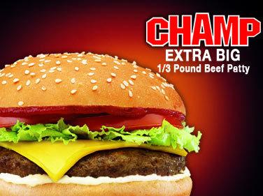 Photo of Champ 1/3 Pound Beef Patty