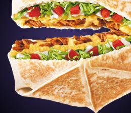 SPICY CHICKEN CRUNCHWRAP SUPREME® at Del Taco