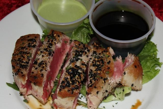 Sesame Encrusted Ahi Tuna Special at The Regal Beagle