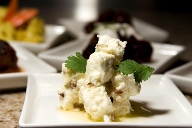 Marinated Feta at Saffron Restaurant & Lounge