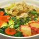 Wonton Harmony Soup at Loving Hut Vegan Cuisine