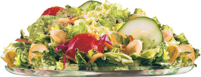 Side Salad at Carl's Jr.