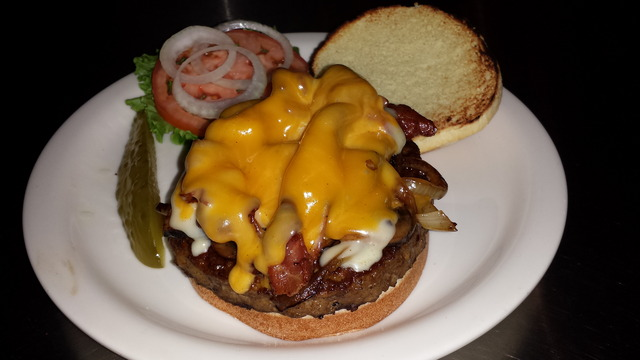 The BEST burger EVER! - the FIX at The Fix Sports Lounge and Nightclub
