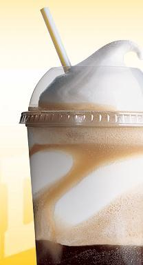 Frosty Float at Friendly's