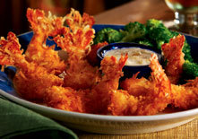 Parrot Bay Jumbo Coconut Shrimp at Red Lobster