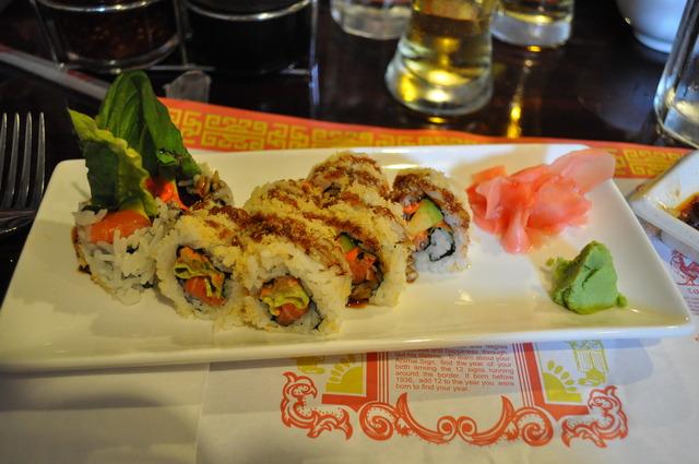 Photo of Crunchy Salmon Roll
