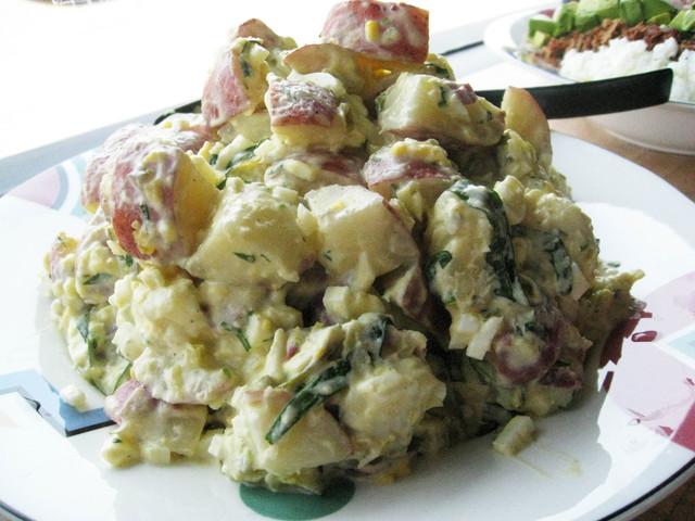 Potato-Egg Salad at Glacier Ice Cream and Gelato