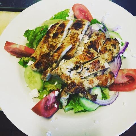 Salad at Nico's Pizza