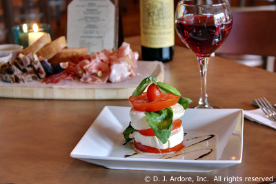 Caprese at Mulberry's Restaurant