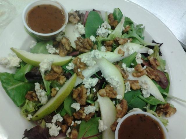 Pear Salad at Monroe Diner Inc