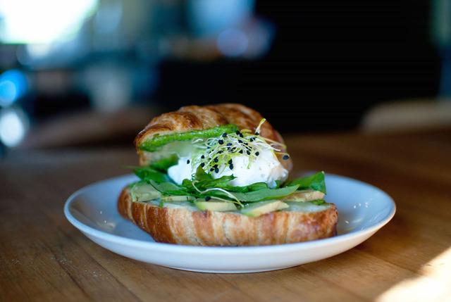 The bacon breakfast sandwich from Sparrow Bakery Northwest - Bacon Breakfast sandwich at The Sparrow Bakery Northwest