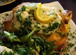 Vegetarian Bastilla at Azro Moroccan & Mediterranean Bistro