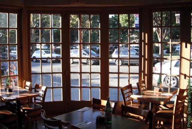 Interior at Caffe Biu Bella