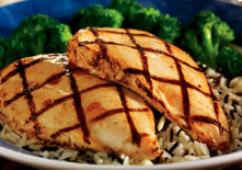 Grilled Chicken Breast at Red Lobster