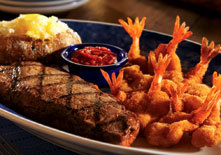Classic Steak and Shrimp at Red Lobster