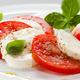Local, fresh mozzarella, tomatoes, fresh basil - Caprese Salade at More Perreca's