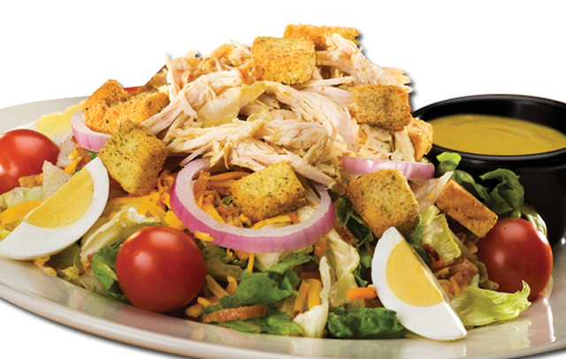 Smokehouse Salad at Sticky Fingers RibHouse
