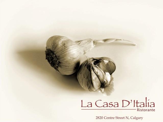 Logo at La Casa D'Italia
